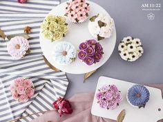 브라이덜 샤워 파티용 플라워컵케이크🌿  #flowercake #flowercupcake #cupcake #buttercreamcake #studentswork #wilton #bridalshower  #butter #handmade #specialcake #am1122cake #wiltoncake #instacake #florist #flower #플라워케이크 #버터크림 #파티케익 #수제케이크 #브라이덜샤워 #케익스타그램 #플라워케익 #꽃케이크 #천호동 #주문케이크 #鲜花蛋糕 #플라워컵케익 #컵케이크 #컵케익