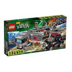 Lego Teenage Mutant Ninja Turtles Big Rig Snow Getaway Set