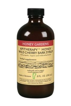 Honey Gardens Wild Cherry Bark Syrup, 8-Ounce *** You can get additional details at the image link.