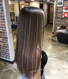 Hair brunette babylights color trends 16 super id+ Brown Hair With Blonde Highlights, Brown Hair Balayage, Hair Color Balayage, Ombre Hair, Balayage Hair Brunette Straight, Straight Hair Highlights, Baby Highlights, Brown Straight Hair, Highlights For Brunettes