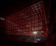 guto requena transforms industrial space into interactive dance club in brazil