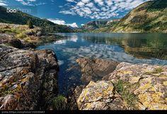 Colors of Norway Yellow - stock photo