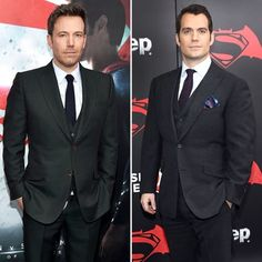 Ben Affleck and Henry Cavill Wear 3-Piece Suits on the Red Carpet: Who Wore It Better?