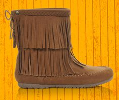 Add some earthy style to your casual outfits with the Makalu Mera booties! Check these out at Shoe Carnival.