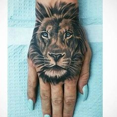 cool New Top 100 3d tattoo | Lion♥ Check more at http://4develop.com.ua/new-top-100-3d-tattoo/