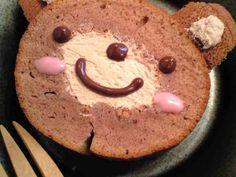フライパンケーキで簡単☆クマさんケーキの画像