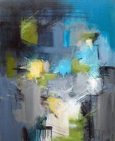 Rikke Laursen moderne abstrakte malerier | Tidligere malerier