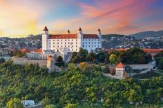 Even though Bratislava is the capital of Slovakia, it has a small town feel. You will find winding cobblestone streets and medieval architecture Wild Water Park, Reggae Festival, Bratislava Slovakia, Sunset Images, City Museum, Cultural Experience, Famous Landmarks, City Break, During The Summer
