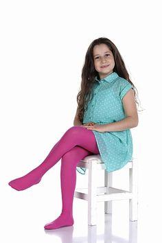 Girly Girl Outfits, Toddler Girl Outfits, Kids Outfits, Cute Outfits, Colored Tights Outfit, Pink Tights, Sweatpants Outfit, Cute Young Girl, Cute Little Girls