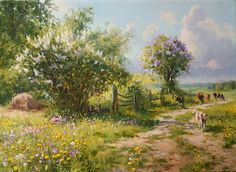 Зацвела сирень, черёмуха, автор Владимир. Артклуб Gallerix