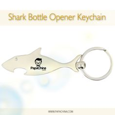 Shark Bottle Opener Keychain is an excellent product that is nice and easy with some versatile features like 30mm metal ring, sharp shape that provides good exposure of your company through your customers who use the product thereby promoting your brand name effectively.