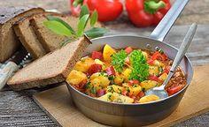 Basischer Kartoffelauflauf   Kartoffelauflauf, Basenfasten und ...