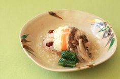 鯛とお赤飯の祝い蒸し~塩糀あんがけ~