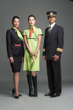 TAP Portuguese airlines cabin crew uniforms