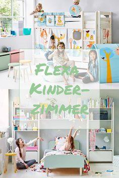 Flexa Kinderzimmer in Mint #MoebelLETZ #mint