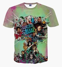 Suicide Squad T-shirt  $19.98 and FREE shipping  Get it here --> https://www.herouni.com/product/suicide-squad-t-shirt/  #superhero #geek #geekculture #marvel #dccomics #superman #batman #spiderman #ironman #deadpool #memes