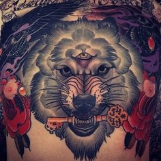 156 Stylish Lock And Key Tattoos And Their Meanings cool