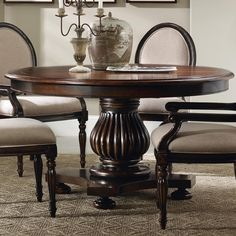 Eastridge Round Pedestal Dining Table by Hooker Furniture