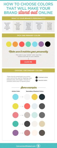 How to Choose Colors That Will Make Your Brand Stand Out | Choose the perfect brand color palette. inspiration, brand color schemes #branding #brandidentity