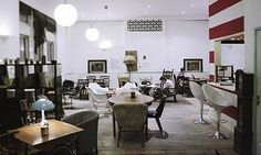 Ziferblat. London's first pay-per-minute cafe. Russian concept. Will the idea catch on? JAN 2014.