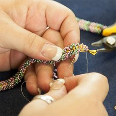 Video: Embellished Ladder Stitch. #Seed #Bead #Tutorial