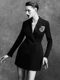 Karlina Caune By Victor Demarchelier For Vogue Spain April 2014 4