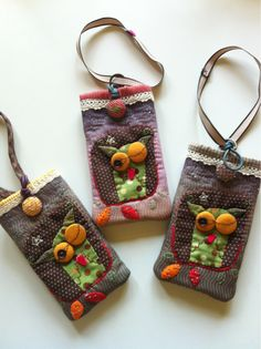 Hand made bag for iphone