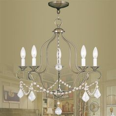 Kendrick 5-Light Candle-Style Chandelier