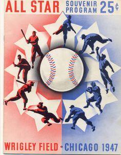 1990 MLB All Star Game Program Chicago Cubs Wrigley Field Saberhagen Boggs Orioles Baseball, Chicago Cubs Baseball, Baseball Art, Tigers Baseball, Baseball Signs, Baseball Scores, Baseball Posters, Chicago Cubs History, Wrigley Field Chicago