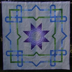 This Quilt has been designed by myself for my daughter and her husband. Quilt Designs, Handmade Crafts, Quilt Patterns, Needlework, To My Daughter, Quilting, About Me Blog, Scrap, Posts