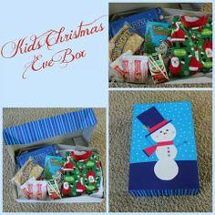 Christmas Eve Box - Include: New pajamas, a Christmas movie ...