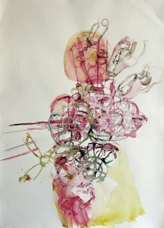 Elizabeth Terhune Amwries Bister, ink and watercolor on paper