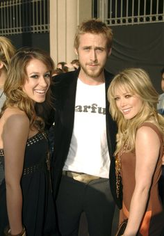 Pin for Later: 23 Reasons Hilary Duff Was the Ultimate Early-'00s It Girl She Got This Close to Ryan Gosling This was at the MTV Movie Awards right before he made out with Rachel McAdams on stage.