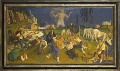 Edward Irvine Halliday - Hypnos, 1928