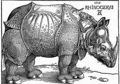 Albrecht Durer's rhino woodcut