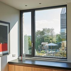 We at shore windows will help you with the home window replacement cost and everything you need to know about by our experts. Modern Window Design, Modern Windows, Aluminium Windows And Doors, Casement Windows, House Extension Design, House Design, Aluminum Windows Design, Window Replacement Cost, Window Styles