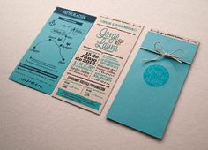 Creative Wedding Invitations cards 4 A Showcase of Creative Wedding Invitations