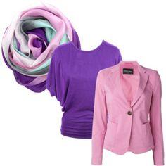 Kleurcombinatie met paars