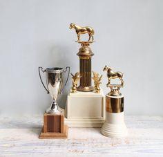 Vintage Equestrian Trophy