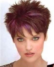 Short Spiky Hairstyles Women Hairstyle Short Spikey