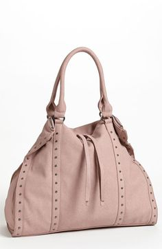Ill probably never use this ---   Ordered it -Grey. 1/2 yrly sale   Cesca Stud Trim Slouchy Tote (Online Only) available at #Nordstrom