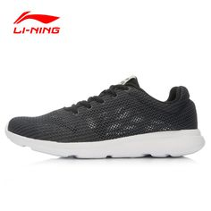 LI-NING Original Men's Running Shoes Breathable Easy Run Sneakers EVA Outsole Footwear Soft Sports Shoes LINING ARJL001