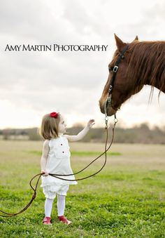 One of my most favorite pictures I have ever take. Children's portraits with horse. Louisiana www.amymartinphotography.com