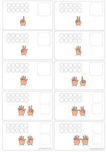 Math fingers and games Math Activities For Kids, Math For Kids, Kindergarten Worksheets, Teaching Math, Preschool Activities, Kids Learning, Act Math, Math Numbers, First Grade Math