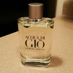 Georgio Armani Cologne Georgio Armani Acqua di Gio 6.08 fl oz. Brand new hasn't been used Georgio Armani  Makeup