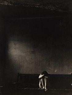 Female Psychiatric Patient in Asylum in 1946. © Jerry Cooke/CORBIS