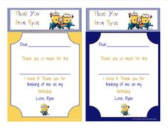 PRINTABLE 'Fill In The Blanks' Thank You by MelissaBeeDesigns, $2.00
