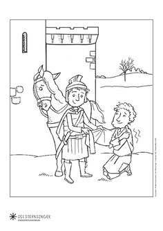 Hl Martin, Roman Soldiers, Advent, Saints, Crafts For Kids, Preschool, Activities, Ocelot, Holidays