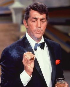 Dean Martin Variety Show  There was a lot of smoking and drinking going on during '60s and '70s tv  programs.
