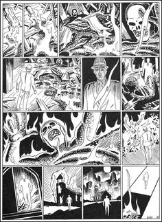 No words necessary with this page of Steve Ditko art featuring his iconic hero, Mr. A. His art tells it all!